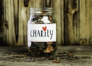 Charity Savings Jar